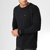 /achat-t-shirts-manches-longues/calvin-klein-tee-shirt-manches-longues-ckj-embroidery-1066-noir-160264.html