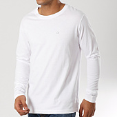 /achat-t-shirts-manches-longues/calvin-klein-tee-shirt-manches-longues-ckj-embroidery-1066-blanc-160265.html