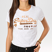 /achat-t-shirts/superdry-tee-shirt-femme-vintage-logo-metal-work-gris-clair-chine-160174.html