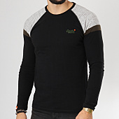/achat-t-shirts-manches-longues/superdry-tee-shirt-manches-longues-orange-label-engd-baseball-noir-160185.html