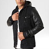 /achat-vestes-jean/urban-classics-veste-jean-avec-capuche-tb1257-noir-160133.html