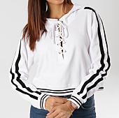 /achat-sweats-capuche/urban-classics-sweat-capuche-femme-crop-avec-bandes-tb1976-blanc-noir-160339.html