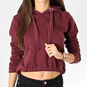 /achat-sweats-capuche/urban-classics-sweat-capuche-femme-crop-tb1717-bordeaux-160346.html