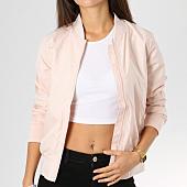 /achat-vestes/urban-classics-veste-zippee-femme-tb1217-rose-160364.html