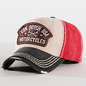 /achat-casquettes-de-baseball/von-dutch-casquette-dylan-01b-noir-ecru-rouge-160481.html