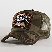 /achat-trucker/von-dutch-casquette-trucker-square-4b-vert-kaki-camouflage-160492.html