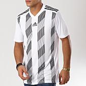 /achat-t-shirts/adidas-tee-shirt-striped-19-jersey-dp3202-blanc-noir-160743.html