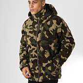 /achat-vestes/only-and-sons-veste-zippee-fourrure-sherpa-bane-vert-kaki-camouflage-160696.html