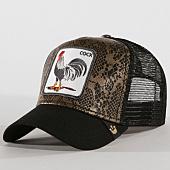 /achat-trucker/goorin-bros-casquette-trucker-cock-marron-noir-160901.html