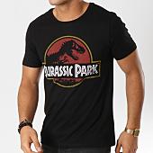 /achat-t-shirts/jurassic-park-tee-shirt-vintage-logo-noir-160841.html