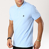 /achat-polos-manches-courtes/selected-polo-manches-courtes-haro-embroidery-bleu-clair-160804.html