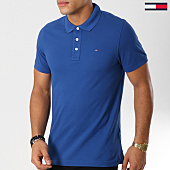 /achat-polos-manches-courtes/tommy-hilfiger-jeans-polo-manches-courtes-essential-5232-bleu-clair-160844.html