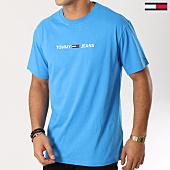 /achat-t-shirts/tommy-hilfiger-jeans-tee-shirt-small-text-5125-bleu-clair-160858.html