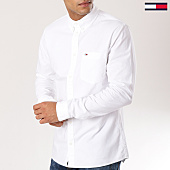 /achat-chemises-manches-longues/tommy-hilfiger-jeans-chemise-manches-longues-classics-4484-blanc-160868.html