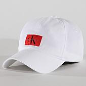 /achat-casquettes-de-baseball/calvin-klein-casquette-monogram-0861-blanc-161099.html