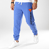 /achat-pantalons-joggings/superman-pantalon-jogging-superman-logo-vintage-bleu-clair-chine-160934.html