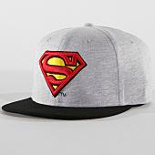 /achat-snapbacks/superman-casquette-snapback-superman-gris-chine-noir-161025.html