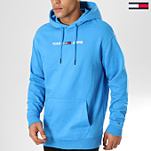 /achat-sweats-capuche/tommy-hilfiger-jeans-sweat-capuche-small-logo-5146-bleu-clair-161011.html