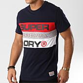 /achat-t-shirts/superdry-tee-shirt-trophy-panel-m10019sr-bleu-marine-161177.html