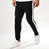 /achat-pantalons-joggings/frilivin-pantalon-jogging-avec-bandes-1505-noir-blanc-161380.html