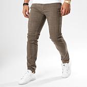 /achat-pantalons-carreaux/frilivin-pantalon-chino-a-carreaux-bk-taupe-161398.html