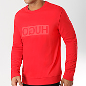 /achat-sweats-col-rond-crewneck/hugo-by-hugo-boss-sweat-crewneck-dicago-50395745-rouge-161423.html