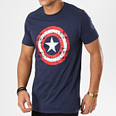 /achat-t-shirts/captain-america-tee-shirt-cracked-shiel-bleu-marine-161431.html