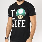 /achat-t-shirts/nintendo-tee-shirt-life-noir-161309.html