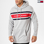 /achat-sweats-capuche/tommy-hilfiger-jeans-sweat-capuche-fleece-5535-gris-chine-161408.html