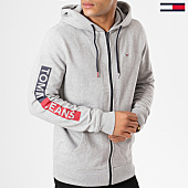 /achat-sweats-zippes-capuche/tommy-hilfiger-jeans-sweat-zippe-capuche-graphic-5541-gris-chine-161410.html