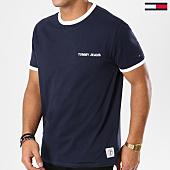 /achat-t-shirts/tommy-hilfiger-jeans-tee-shirt-tommy-ringer-5526-bleu-marine-161474.html