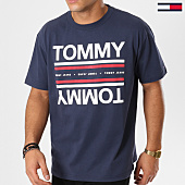 /achat-t-shirts/tommy-hilfiger-jeans-tee-shirt-essential-reflection-5547-bleu-marine-161477.html