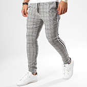 /achat-pantalons-carreaux/uniplay-pantalon-carreaux-avec-bandes-t3296-gris-noir-blanc-161259.html