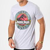 /achat-t-shirts/jurassic-park-tee-shirt-park-staff-gris-chine-161574.html