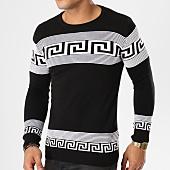 /achat-pulls/john-h-pull-jh-001-noir-blanc-161624.html