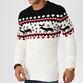 /achat-pulls/john-h-pull-jp-35-blanc-noir-rouge-161631.html