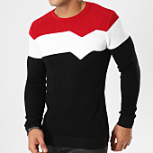 /achat-pulls/john-h-pull-jh-002-noir-blanc-rouge-161644.html
