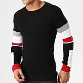 /achat-pulls/john-h-pull-jh-006-noir-rouge-blanc-161648.html