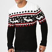 /achat-pulls/john-h-pull-jp-35-noir-blanc-rouge-161658.html
