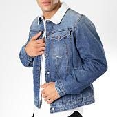 /achat-vestes-jean/g-star-veste-en-jean-col-mouton-3301-slim-d11152-8973-bleu-denim-161779.html