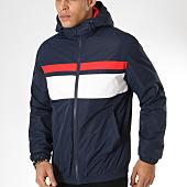 /achat-vestes/jack-and-jones-veste-zippee-capuche-brighton-bleu-marine-blanc-rouge-161737.html