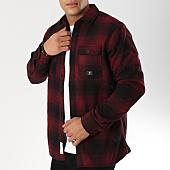 /achat-vestes/jack-and-jones-veste-a-carreaux-thompson-bordeaux-noir-161738.html