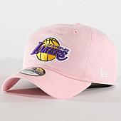 /achat-casquettes-de-baseball/new-era-casquette-snapback-los-angeles-lakers-pastel-70435858-rose-161730.html
