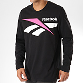 /achat-t-shirts-manches-longues/reebok-tee-shirt-manches-longues-classic-vector-dw9515-noir-161747.html