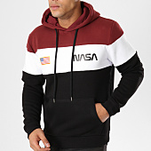 /achat-sweats-capuche/nasa-sweat-capuche-chest-bordeaux-blanc-noir-161853.html