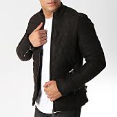 /achat-vestes/classic-series-veste-zippee-suedine-507-noir-161917.html