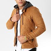 /achat-vestes/classic-series-veste-zippee-capuche-suedine-411-camel-161925.html