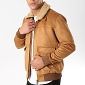 /achat-vestes/classic-series-veste-zippee-suedine-col-mouton-415-camel-161958.html