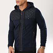 /achat-sweats-zippes-capuche/classic-series-sweat-zippe-capuche-f80-bleu-marine-noir-161972.html