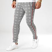 /achat-pantalons-carreaux/classic-series-pantalon-carreaux-f2511-noir-blanc-rouge-162003.html